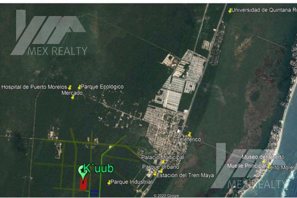 Foto de terreno habitacional en venta en  , josé maría morelos, josé maría morelos, quintana roo, 18691237 No. 10
