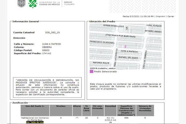 Foto de casa en venta en juan a. mateos 106, obrera, cuauhtémoc, df / cdmx, 0 No. 06