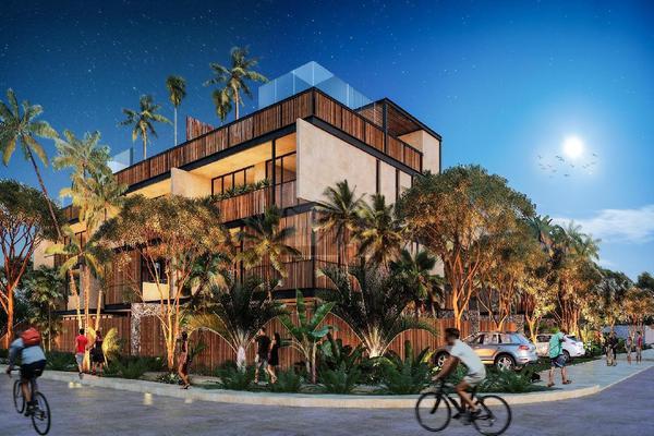 Foto de departamento en venta en juanek , tulum centro, tulum, quintana roo, 5834387 No. 01