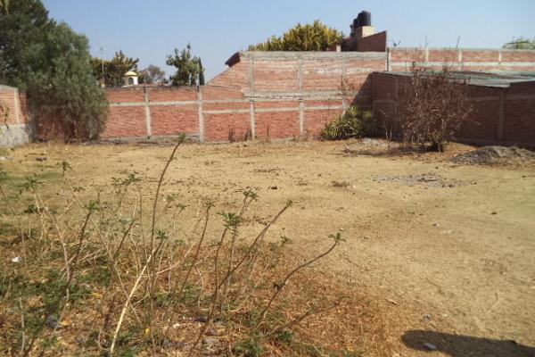 Foto de terreno habitacional en venta en juventino rosas s/n , tlacateco, tepotzotlán, méxico, 4634944 No. 01