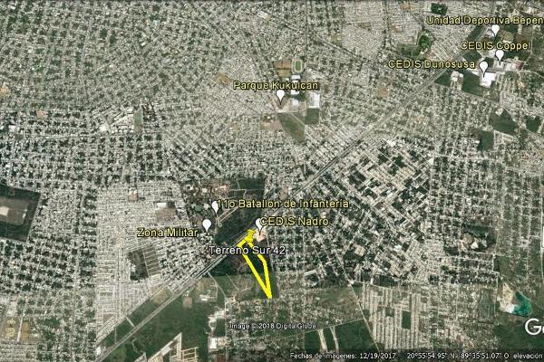 Foto de terreno habitacional en venta en  , kanasin, kanasín, yucatán, 13348690 No. 08