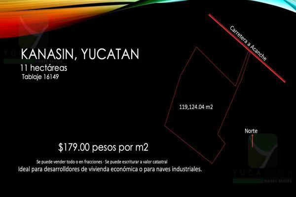 Foto de terreno habitacional en venta en  , kanasin, kanasín, yucatán, 19242860 No. 02