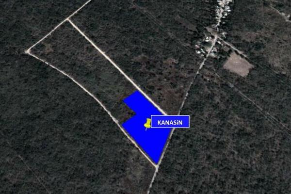 Foto de terreno habitacional en venta en  , kanasin, kanasín, yucatán, 7861160 No. 01