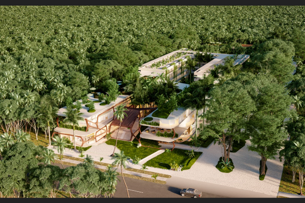 Foto de departamento en venta en kikaab tulum, avenida coba , tulum centro, tulum, quintana roo, 5435477 No. 02