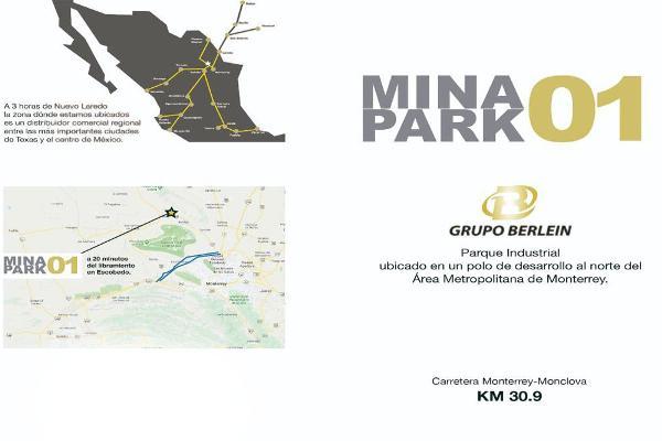 Foto de terreno industrial en venta en kilometro 30.9 carretera a monclova , mina, mina, nuevo león, 8867922 No. 01