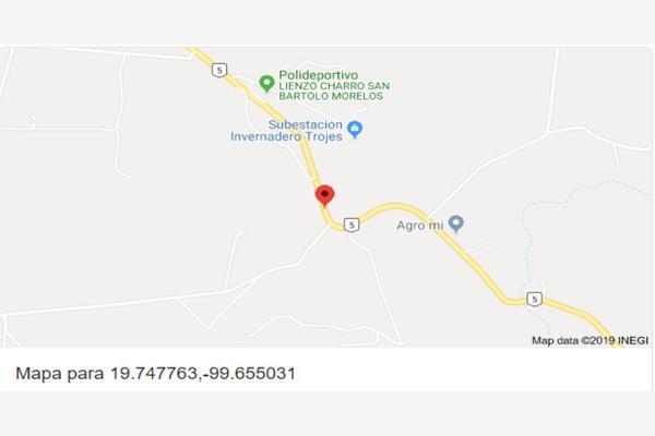 Foto de nave industrial en venta en kilometro 37.5 carretera san bartolo morelos, morelos estado de méxico 001, san bartolo morelos, morelos, méxico, 7238460 No. 15