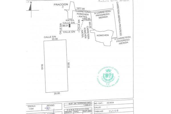 Foto de terreno habitacional en venta en  , komchen, mérida, yucatán, 10140910 No. 01