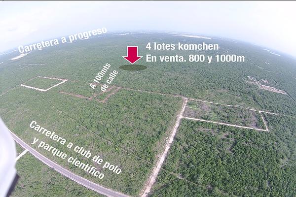 Foto de terreno habitacional en venta en  , komchen, mérida, yucatán, 14027910 No. 01
