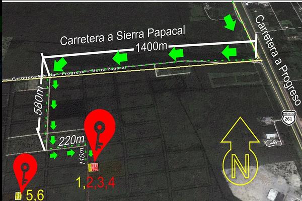 Foto de terreno habitacional en venta en  , komchen, mérida, yucatán, 14027910 No. 02