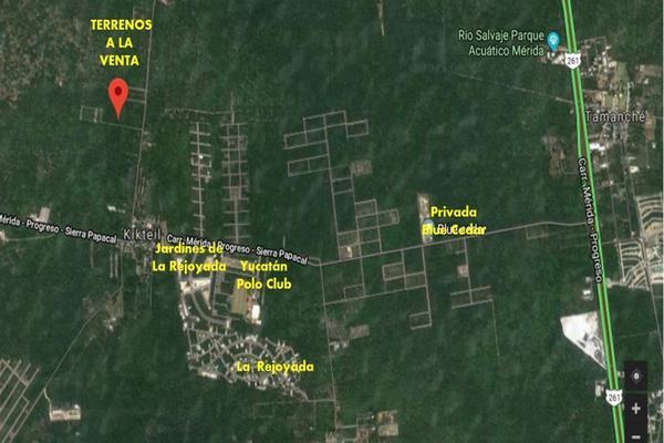 Foto de terreno habitacional en venta en  , komchen, mérida, yucatán, 14027918 No. 01