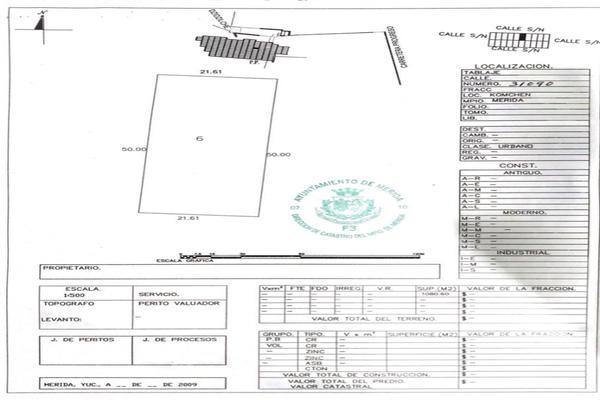 Foto de terreno habitacional en venta en  , komchen, mérida, yucatán, 7280469 No. 02