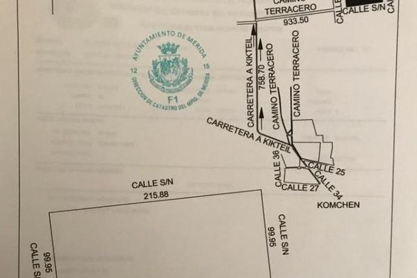 Foto de terreno habitacional en venta en  , komchen, mérida, yucatán, 7860567 No. 02