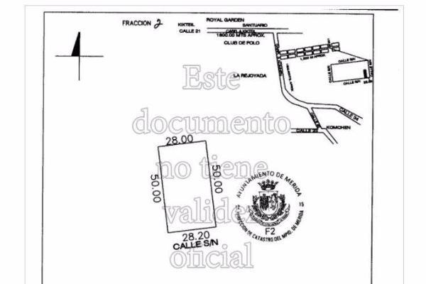 Foto de terreno habitacional en venta en  , komchen, mérida, yucatán, 7861035 No. 01