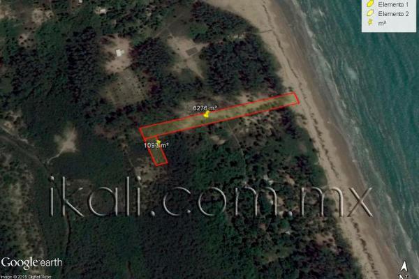 Foto de terreno habitacional en venta en playa norte barra de galindo , la barra norte, tuxpan, veracruz de ignacio de la llave, 2675293 No. 06