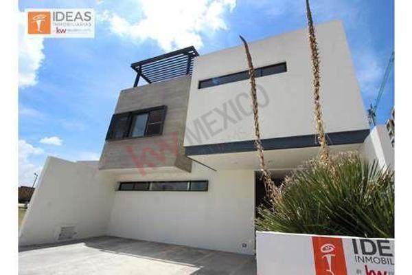 Foto de casa en venta en  , la isla lomas de angelópolis, san andrés cholula, puebla, 8850720 No. 01