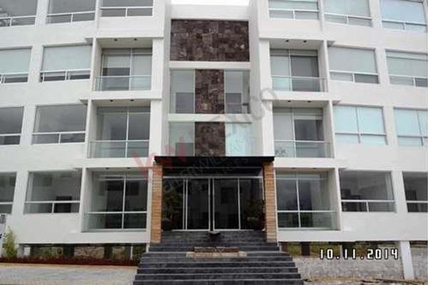 Foto de departamento en venta en  , la isla lomas de angelópolis, san andrés cholula, puebla, 8857562 No. 01