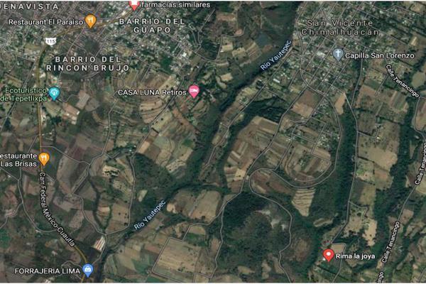 Foto de terreno habitacional en venta en la joya 1, ozumba de alzate, ozumba, méxico, 16803007 No. 01