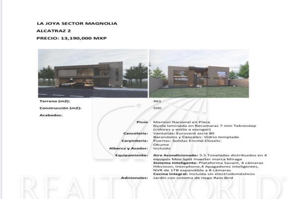 Foto de casa en venta en  , la joya privada residencial, monterrey, nuevo león, 12278217 No. 01