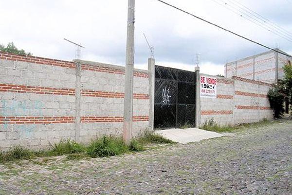 Foto de terreno habitacional en venta en  , la magdalena, tequisquiapan, querétaro, 8050928 No. 01