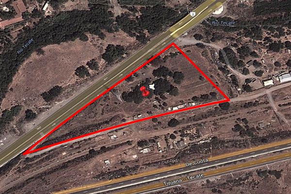 Foto de terreno habitacional en venta en carretera tijuana-tecate , la puerta, tecate, baja california, 2717556 No. 01