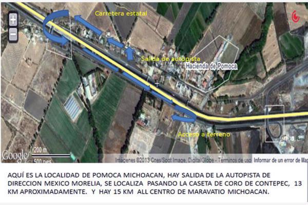 Foto de terreno habitacional en venta en la rancheria 1, pomoca, maravatío, michoacán de ocampo, 7482903 No. 02