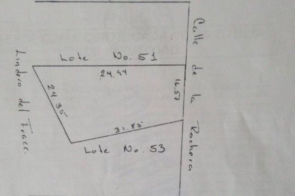 Foto de terreno habitacional en venta en la rochera , villas del mesón, querétaro, querétaro, 14035136 No. 03