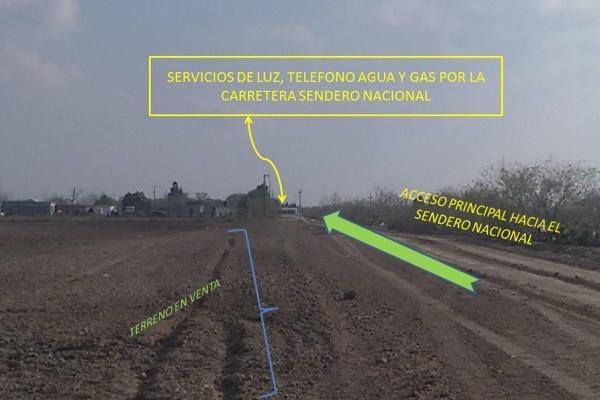 Foto de terreno habitacional en venta en  , la rosita, matamoros, tamaulipas, 14387765 No. 02
