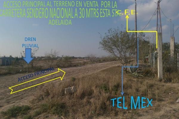 Foto de terreno habitacional en venta en  , la rosita, matamoros, tamaulipas, 14387765 No. 03