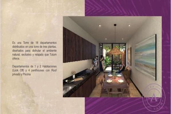 Foto de departamento en venta en  , la veleta, tulum, quintana roo, 10013466 No. 02