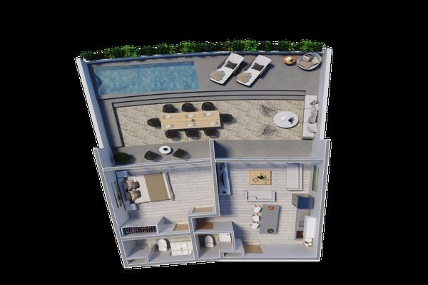 Foto de departamento en venta en  , la veleta, tulum, quintana roo, 14032983 No. 30