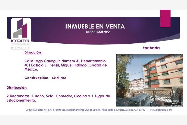 Foto de departamento en venta en lago caneguin 31, pensil sur, miguel hidalgo, df / cdmx, 5922730 No. 01