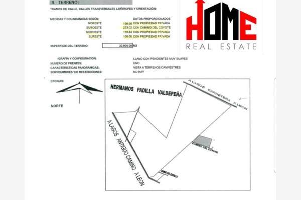 Foto de terreno comercial en venta en  , carril de san ángel, lagos de moreno, jalisco, 7288546 No. 03