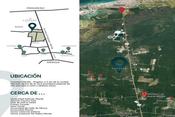 Foto de terreno habitacional en venta en lantana , san ignacio, progreso, yucatán, 9282032 No. 01