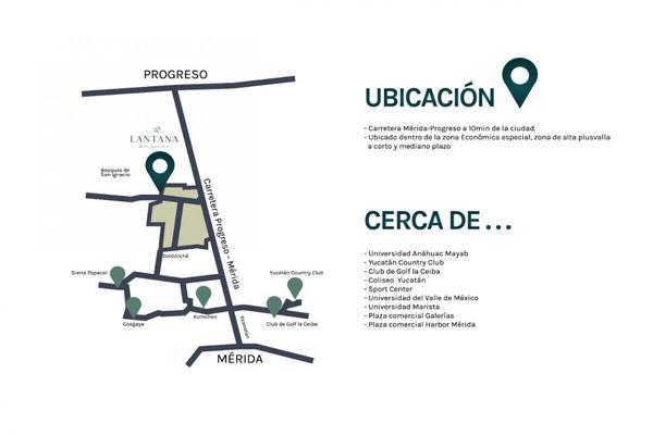 Foto de terreno habitacional en venta en lantana , san ignacio, progreso, yucatán, 9282032 No. 02