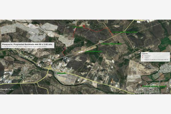 Foto de terreno industrial en venta en  , las escobas, pesquería, nuevo león, 5821697 No. 13