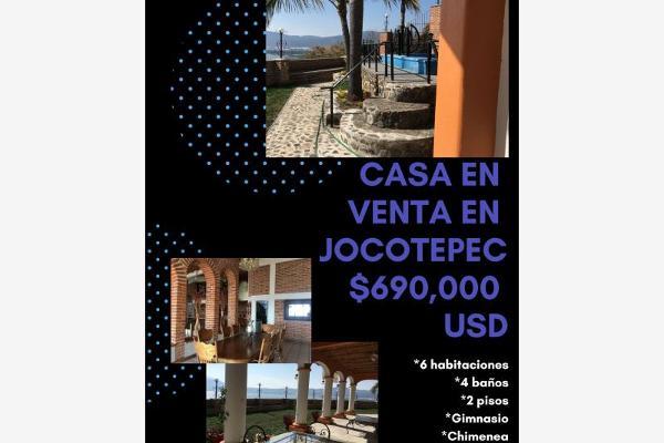 Foto de casa en venta en  , jocotepec centro, jocotepec, jalisco, 6212820 No. 01