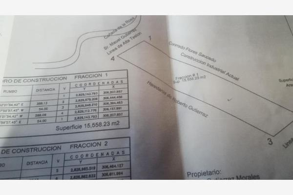Foto de terreno industrial en venta en las torres 200, parque industrial, ramos arizpe, coahuila de zaragoza, 5626374 No. 01