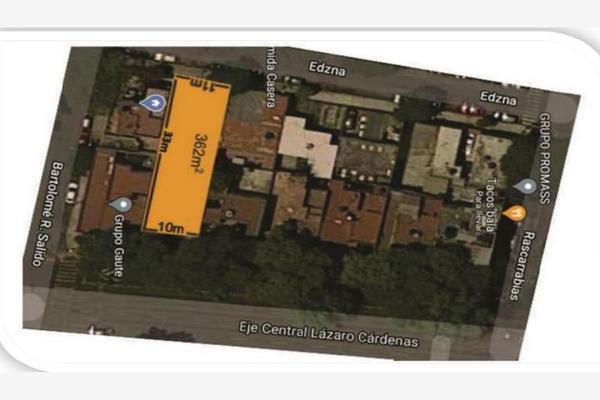 Foto de terreno habitacional en venta en lazaro cardenas 925, vertiz narvarte, benito juárez, df / cdmx, 0 No. 06