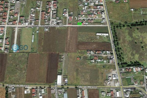 Foto de terreno habitacional en venta en  , lázaro cárdenas, metepec, méxico, 5934624 No. 01