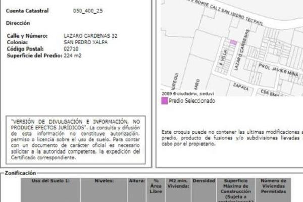 Foto de casa en venta en lázaro cardenas , san pedro xalpa, azcapotzalco, df / cdmx, 17969201 No. 04