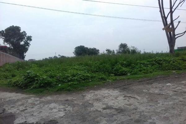 Foto de terreno habitacional en renta en lib aturo montiel rojas 0, la conchita, chalco, méxico, 9935331 No. 03