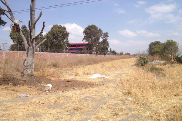 Foto de terreno habitacional en renta en lib aturo montiel rojas 0, la conchita, chalco, méxico, 9935331 No. 09