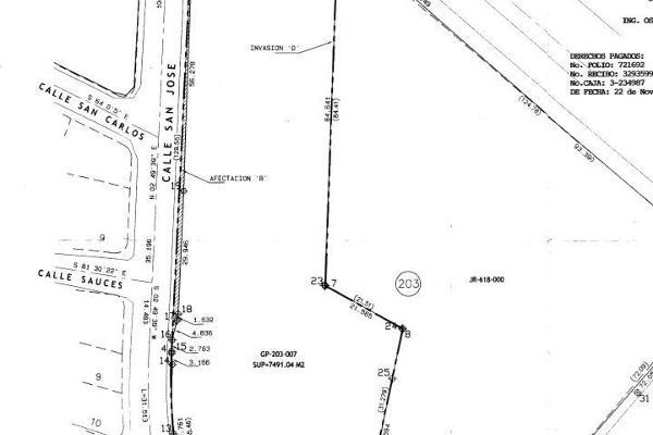 Foto de terreno habitacional en venta en libertad o san jose , los santos, tijuana, baja california, 3432109 No. 05