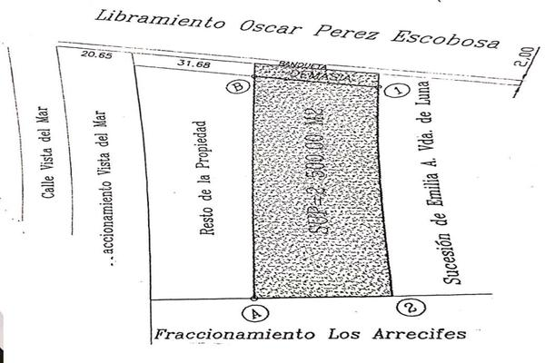 Foto de terreno comercial en venta en libramiento 2 , los conchis sección arrecifes, mazatlán, sinaloa, 18361408 No. 10