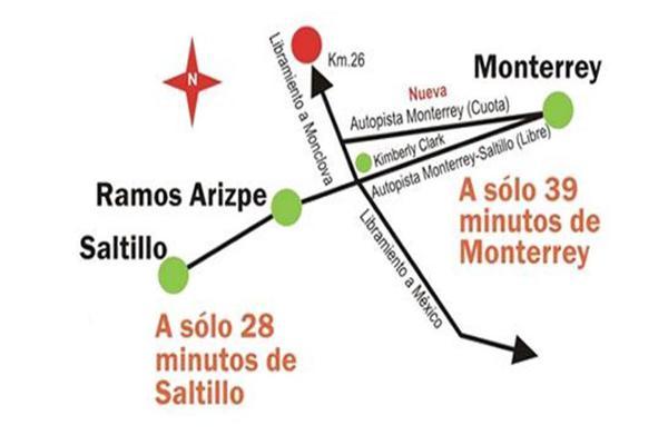 Foto de terreno habitacional en venta en libramiento a coahuila , ramos arizpe centro, ramos arizpe, coahuila de zaragoza, 7177856 No. 04