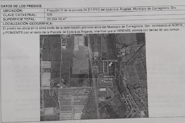Foto de terreno industrial en venta en libramiento nor poniente , los ángeles, corregidora, querétaro, 5854486 No. 04