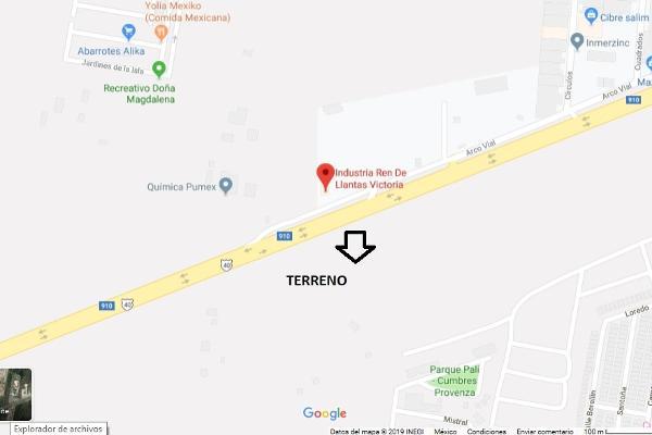 Foto de terreno habitacional en venta en libramiento noreste kilometro 26.5 , portal del fraile 1er sector, general escobedo, nuevo león, 12824482 No. 01