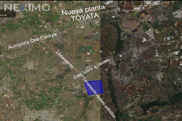 Foto de terreno industrial en venta en libramiento palmillas- apaseo , 10 de abril, querétaro, querétaro, 7485509 No. 07