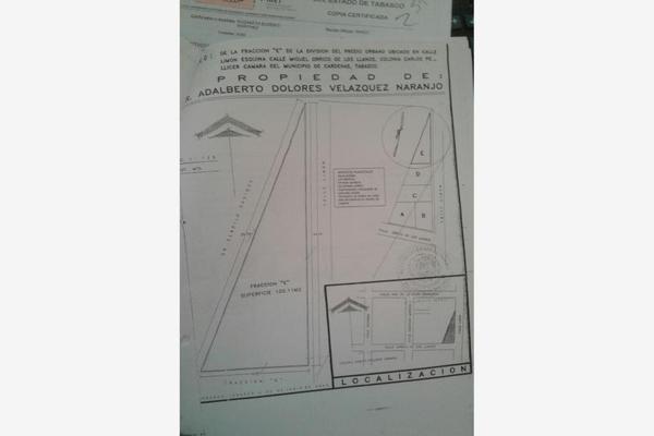 Foto de terreno habitacional en venta en limon , carlos pellicer camara, cárdenas, tabasco, 5307645 No. 01