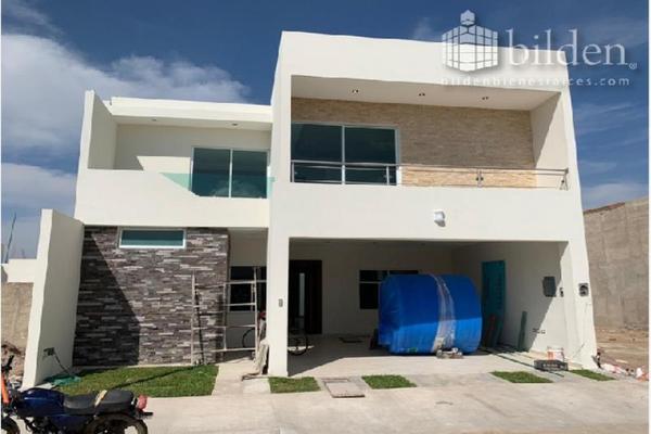 Foto de casa en venta en linda vista 100, fraccionamiento las quebradas, durango, durango, 9824659 No. 01